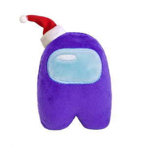 Among Us Plush Plushie Christmas Hat Music