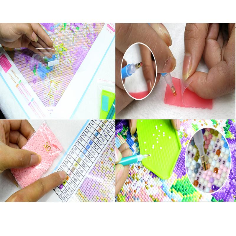 DIY Diamond Gem Painting Set