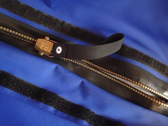 metal drysuit zipper