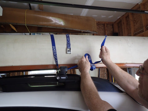Canoe cartopping instructions 5