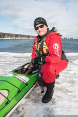 Bryan Hansel tests a Mythic Gear drysuit for Paddling Light