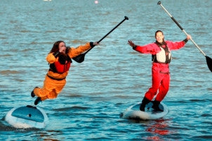 Mythic Gear drysuits for SUP