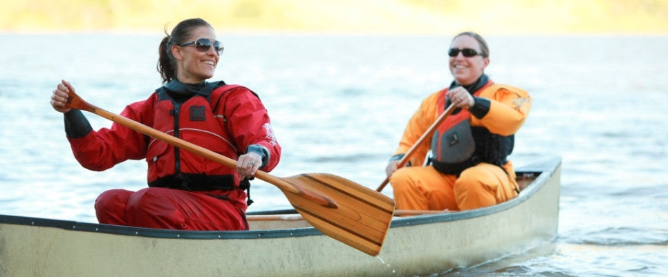 Mythic Gear drysuits for canoeing
