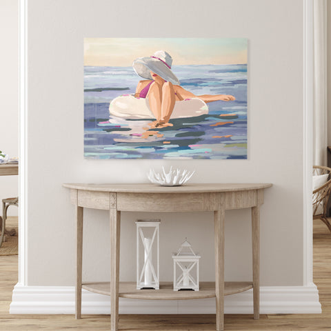 Original Painting by Kristin Cooney from her Bathing Beauties Collection