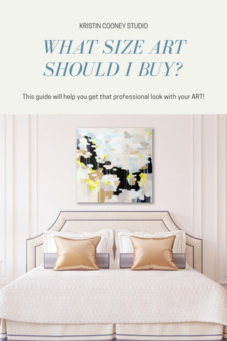 Buying Art, Hanging Art, How to hang art, gallery wall