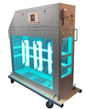 Load image into Gallery viewer, Cello Lighting Industrial Portable 1000W Surface & Air Sanitation Cart, UVCART1000