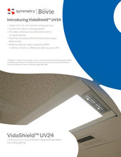 Load image into Gallery viewer, VidaShield by Bovie 2x4 Troffer, UV Overhead Air Purification LED Light, UV24LED