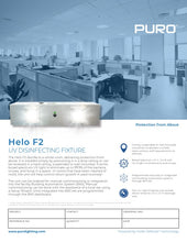 Load image into Gallery viewer, Puro Helo F2 - UV Disinfecting Fixture, H-F2-6-P-COM-110