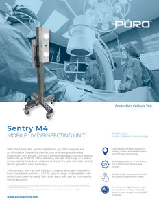Puro Sentry M4 Quad UV Light Engine, S-M4-C-6-P-110