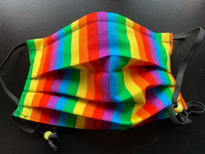 Rainbow Stripes - Made To Order - 3 Sizes