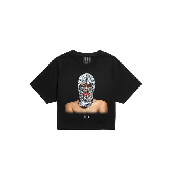 Crop Top CAGOULE DIAMANT