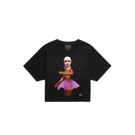 Crop Top BLACK BARBIE