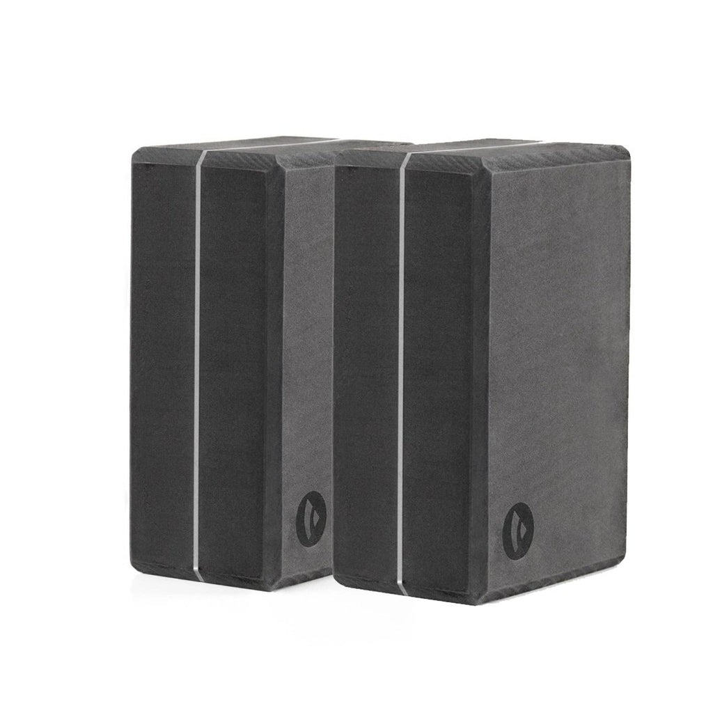 BIG BLOCK 50% Recycled Yoga Brick in Anthracite - SET of 2 - Bodynova Shop