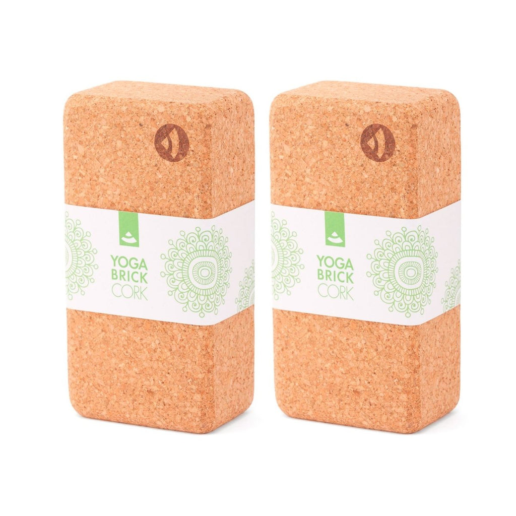 Classic Cork Asana Bricks - SET of 2 - XL - Bodynova Shop
