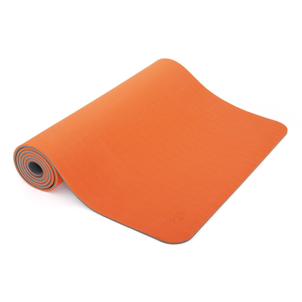 LOTUS PRO Yoga Mat - Orange/Anthracite - Bodynova Shop