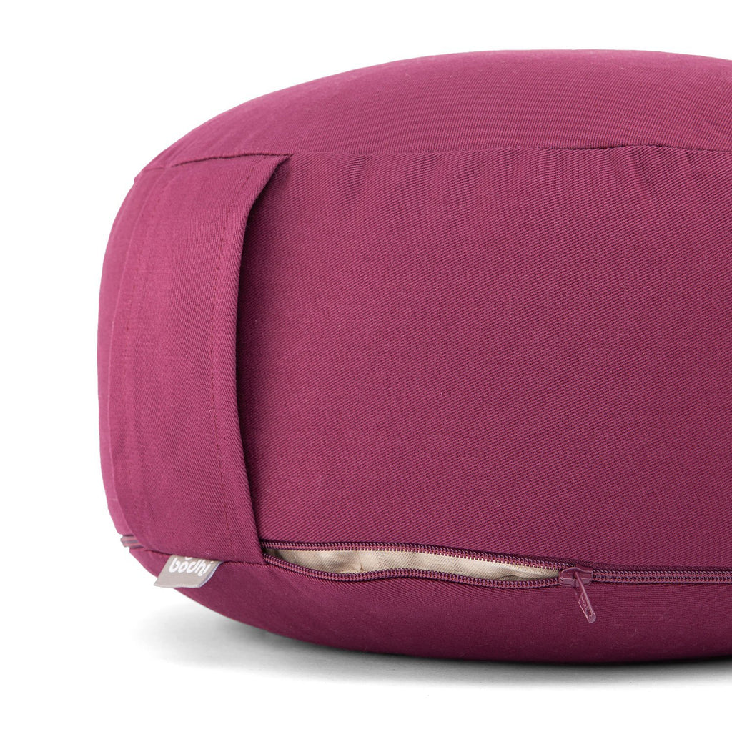 RONDO ECO Meditation cushion - Aubergine - Bodynova Shop
