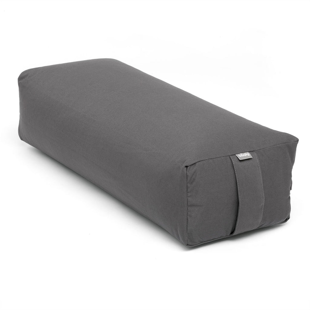 Salamba ECO Rectangular Yoga Cushion - Anthracite - Bodynova Shop