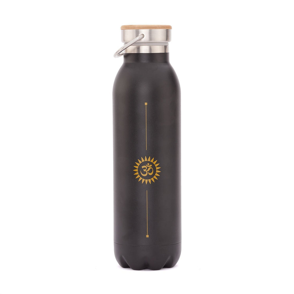 Stainless Steel Insulated Bottle (Black OM 20oz) - Bodynova Shop