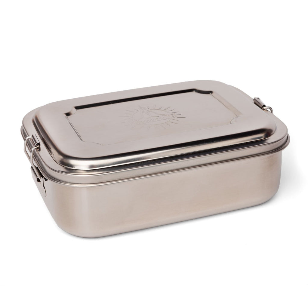 Stainless Steel Namaste Lunchbox - Large - Bodynova Shop