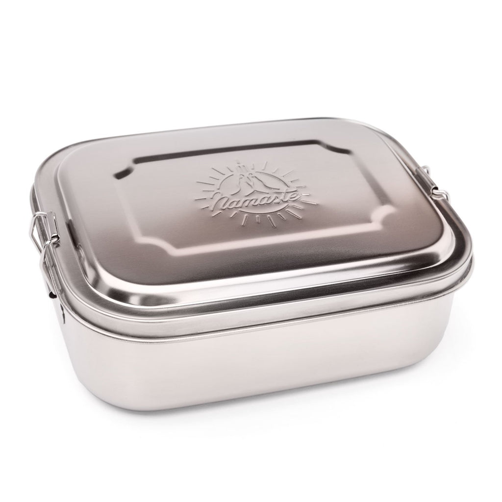 Stainless Steel Namaste Lunchbox - Small - Bodynova Shop