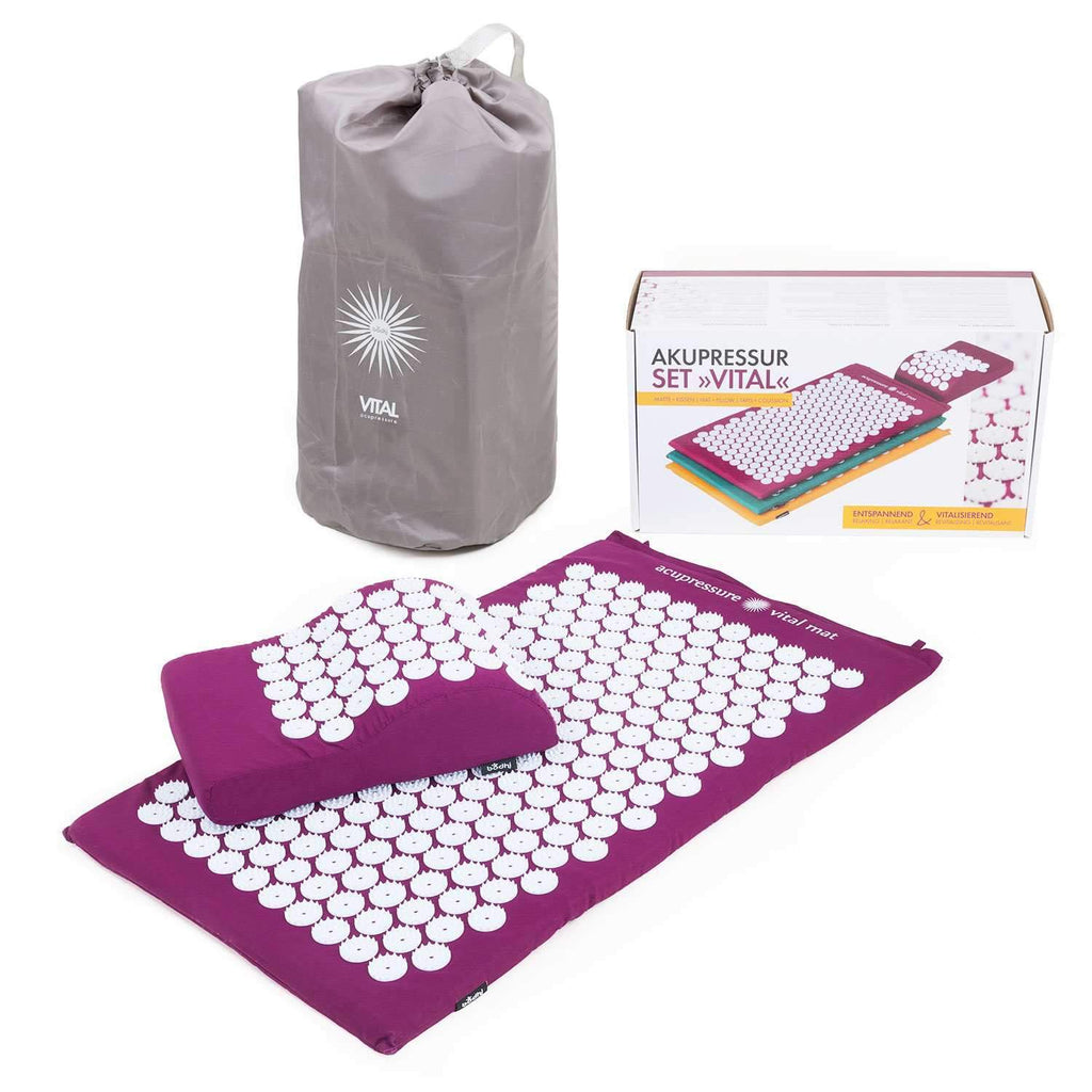 VITAL Acupressure Set - Aubergine - Bodynova Shop