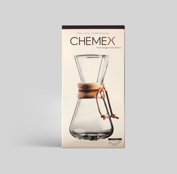 Chemex 3 cup (Glass bottle)
