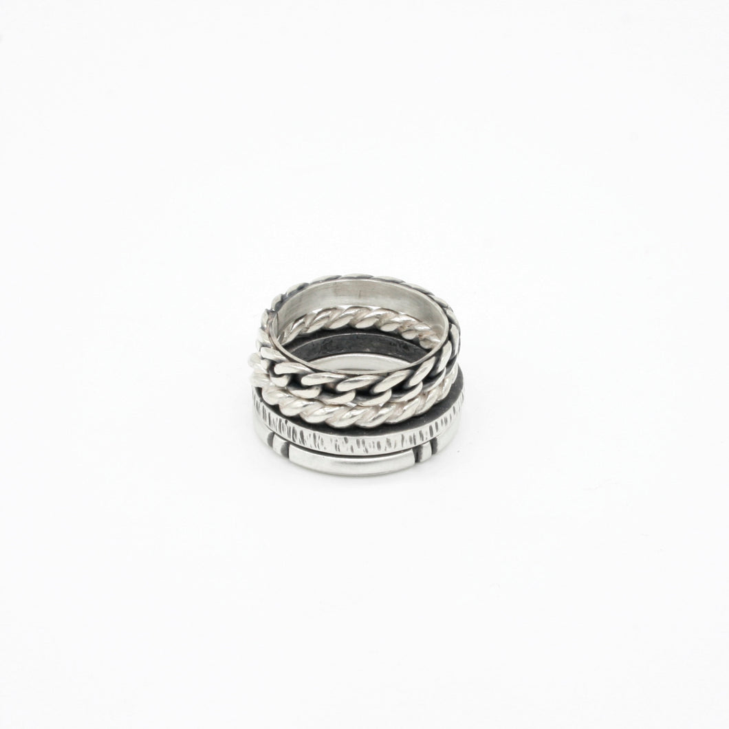Anillos Apilables - COMBO RINGS IV -