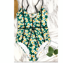 Load image into Gallery viewer, Floral swimsuit