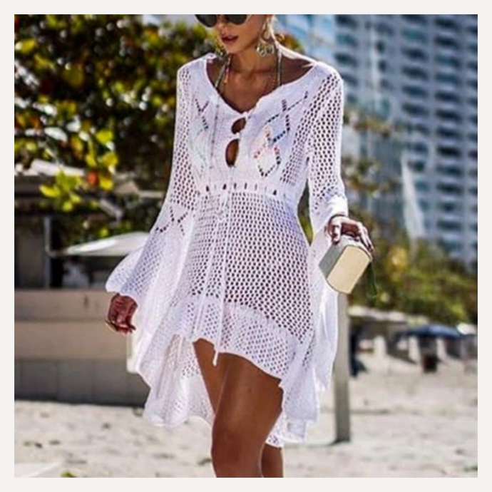 Crochet coverup