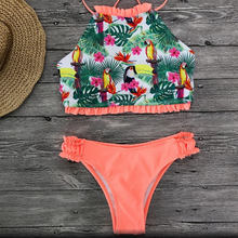 Load image into Gallery viewer, Tropical print bikini