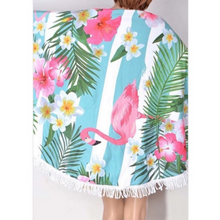 Load image into Gallery viewer, Flamingo Coverup/towel