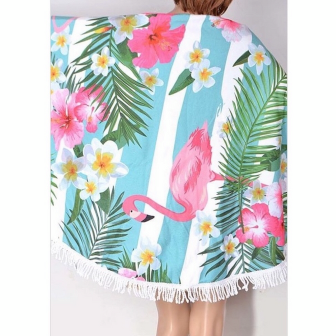 Flamingo Coverup/towel
