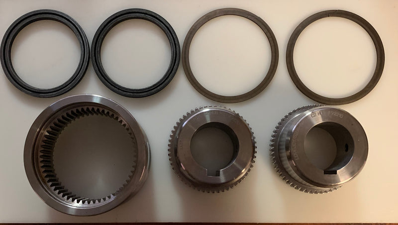 Floating Sleeve Gear Coupling: C-2 Cont