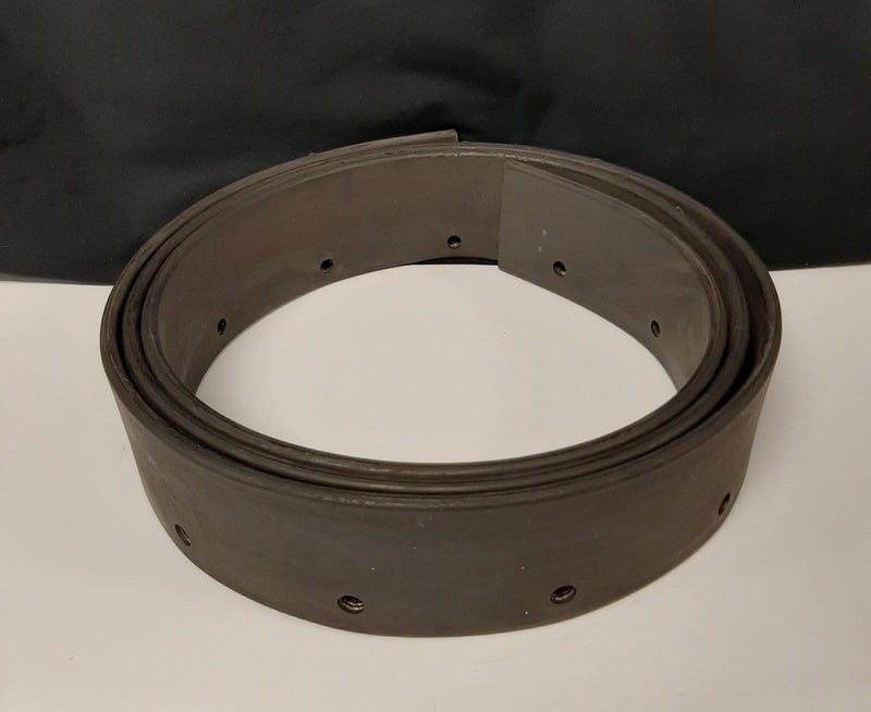"Molded Edge Rubber Flashing: 9/32""X2-3/4"""