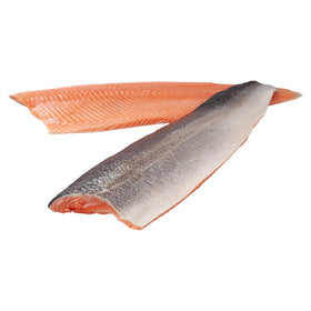 Frozen Scottish Salmon Fillets (Trim D) - Sold in KG