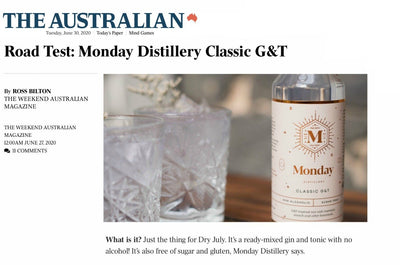 Road Test: Monday Distillery Classic G&T
