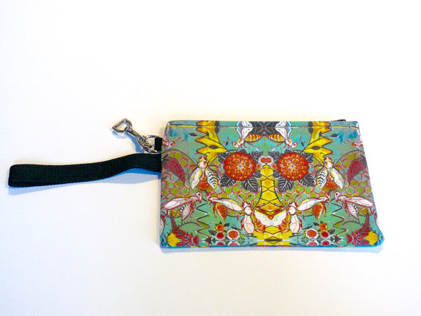 Cheri Ellis Bee Story Zip Purse - Hive Happy - Anima Mundi - 1