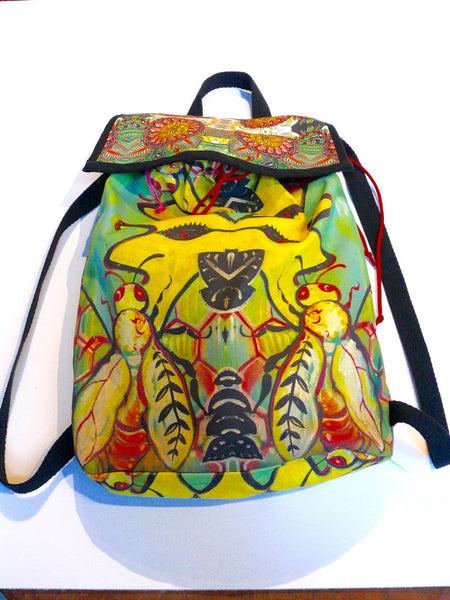 Cheri Ellis Bee Story Backpack - Anima Mundi