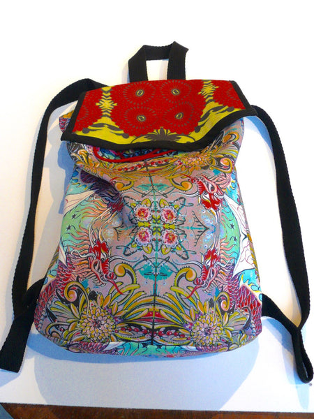 Cheri Ellis Bee Story Backpack - Dragon Bee - Anima Mundi