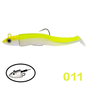 Hunthouse black minnow 25g 40g 60g 120g fishing lure soft pike lure leurre souple shad peche iscas artificiais silicone lure