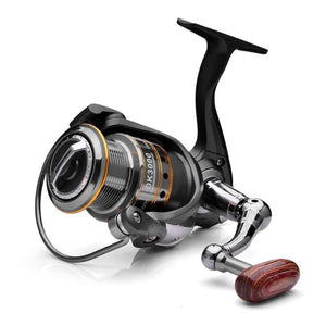 Spinning Fishing Reel 11BB 12BB Bearing Balls Exchange Arm Rock Sea Drag Power Fishing Rod Pole Aluminum Wheel Fishing Tackle