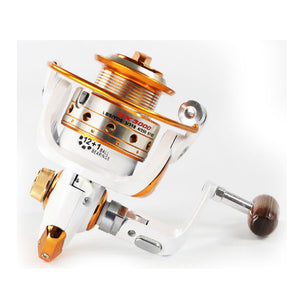 YUMOSHI AX/BX Fishing Reel 12BB+1 500-9000 Metal Coil Spinning Reel Carp Bait Boat Rock Sea Spinning Tackle Casting Line Reels