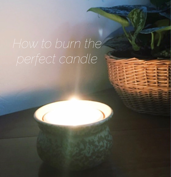 How to burn the perfect candle