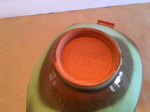 1960's Frankoma Pottery Large Bowl - Choose your own fragrance