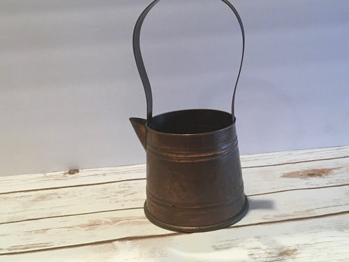 Large Vintage Copper Watering Can - Choose your own fragrance