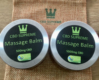 CBD Supreme Massage Balm