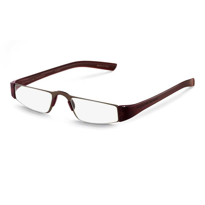 Porsche Design p8801 E Reading Tool; Dark Brown