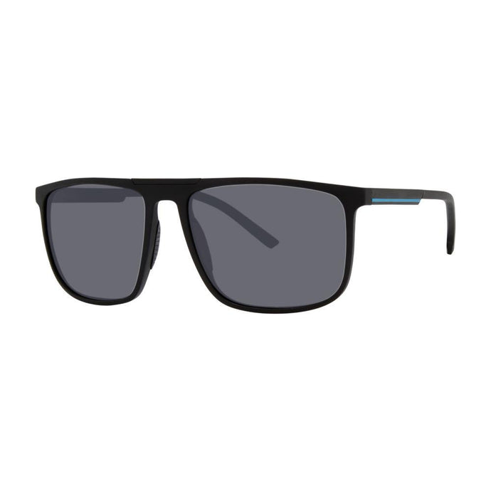 Bondi Optical Sunglasses with Soft Pouch, Black + Blue