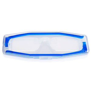 Nannini Compact 1 Italian Made Folding Reading Glasses with Case; Blue - ReadingGlasses.CO/
