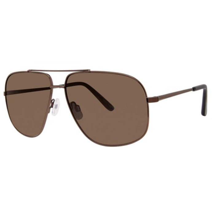 La Concha Military Optical Sunglasses with Soft Pouch; Brown